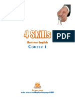 4 Skills Business English Course 1