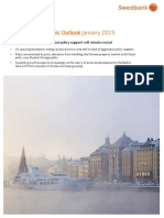 Swedbank Economic Outlook 27 January 2015