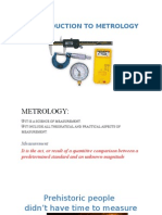 Introoduction to Metrology