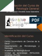 Presentación Del Curso Patología General