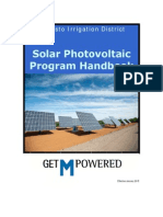 Modesto Irrigation Distric - Solar Photovoltaic Program 2015