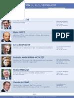 Composition Gouvernement Début 2012