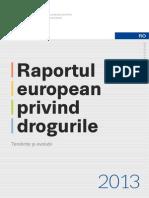 Raportul European Privind Drogurile 2013