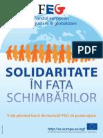 Solidaritate În Faţa Schimbărilor