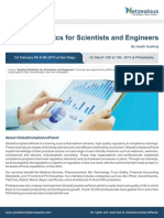 GCPseminar on Applied Statistics for Scientists and Engineers