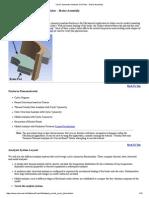 Cyclic Symmetry Analysis of a Rotor - Brake Assembly