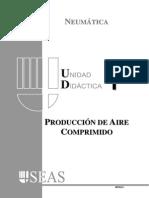produccion del aire comprimido