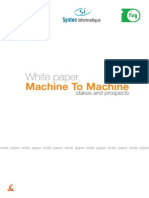 White Paper Machine to Machine Stakes and Prospects Orange
