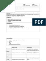 Lesson Planning Tp-1 CELTA