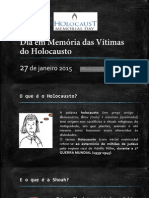 Dia Em Memória Das Vítimas Do Holocausto