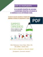 El camino hacia la inclusión educativa del alumnado en situación de discapacidad intelectual MEJORADO