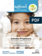 Activity Booklet January to March 2015