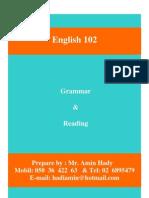 Grammar 2nd Term 101