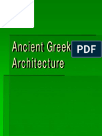 Architecture in Greek