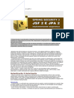 Spring Security 3 Jpa 2 e JSF 2