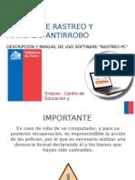 Manual SW Rastreo PC v7 (Dani)