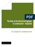 Role of EE in Construction