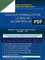 4. CALCULO HIDRAULICO RED ALCANTARILLADO (1).ppt