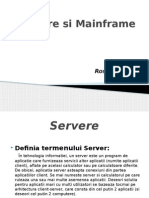 Servere Si Mainframe