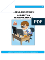 Praktikum Algoritma Pemrograman II