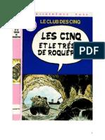 Blyton Enid Les Cinq 18 Les Cinq et le Trésor de la Roquépine 1979.doc
