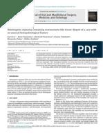 Lucrare stiintifica parodontologie