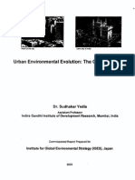 Urban Environmental Evolution the Case of Mumbai