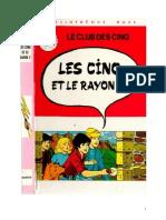 Blyton Enid Les Cinq 13 Les Cinq et le Rayon Z 1977.doc