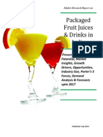 Packaged Fruit Juices & Drinks in India