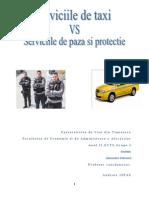 Proiect economia serviciilor