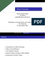 Affine Process Minicourse CompFin