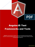 AngularJS Test Frameworks and Tools