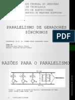 Paralelismo de Geradores Síncros