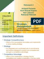 Strategic Management Input