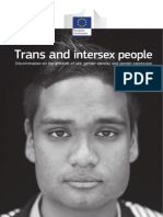 Trans and Intersex People. Discrimination on the Grounds of Sex, Gender Identity and Gender Expression