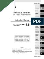 Frekfentni Regulator VFS11 Upustvo