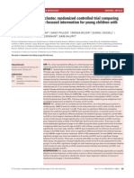 Focus on Function a Cluster, Randomized Controlled Trial Comparing
