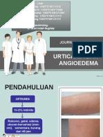 Journal Reading Urticaria, angioedema