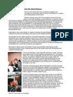 Unit 3 Personal Investigation - Essay