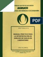 Manual Práctico Para La Interpretación de Análisis de Suelos en Laboratorio
