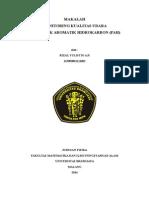 Polisiklik Aromatik Hidrokarbon (Rizal Yulistio Aji 115090801111002)