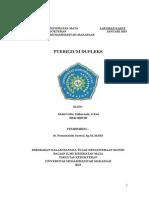 Ptergium Dupleks - Laporan Kasus Bagian Ilmu Kesehatan Mata Januari 2015