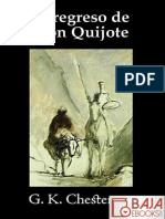 El Regresgggo de Don Quijotgggge - G. K. Chesterton
