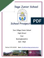 iver village junior school school prospectus