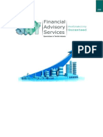 a project on promotional management for financial advisory services