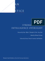Strengthening Intelligence Oversight