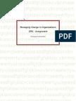 Change Management Assignment-Thanu