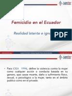Femicidio en Ecuador
