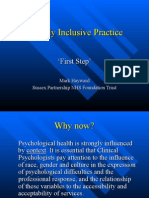 Socially Inclusive Practice - BPS Seminar 2008 (2)