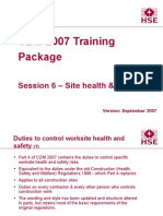 Session6 Site Health & Safety